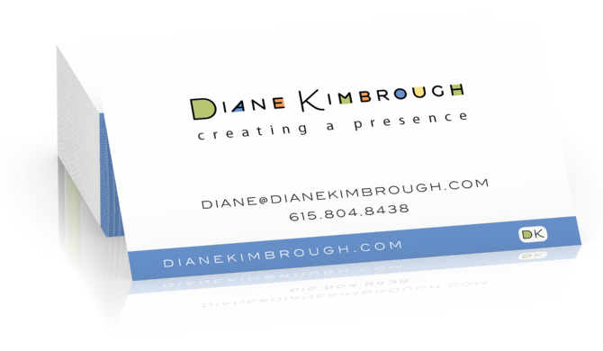 Diane Kimbrough Business Card