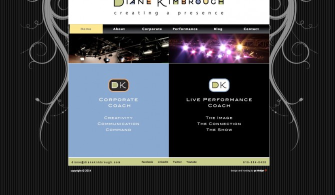 Diane Kimbrough Web Site