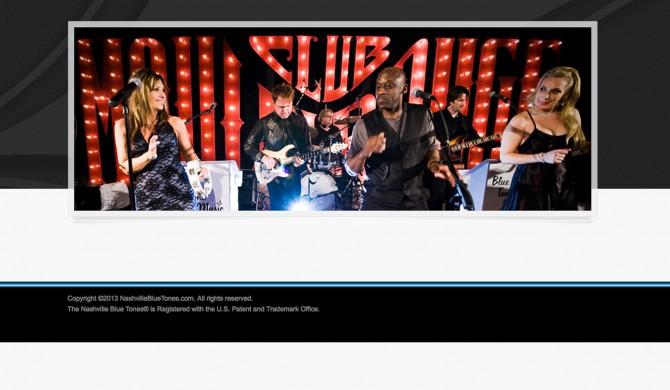 Nashville Blue Tones Web Site