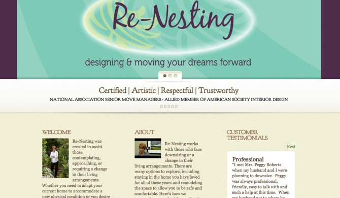 Renesting Nashville Web Site