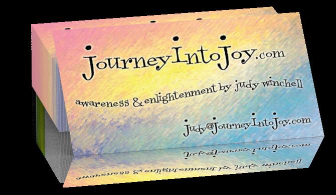Journey Into Joy Business Cards