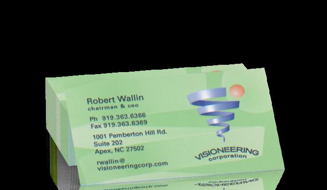 Visioneering Business Card