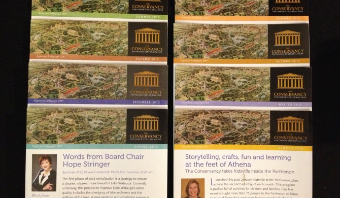 Conservancy for the Parthenon Newsletter